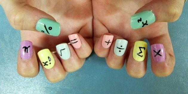 7 School Inspired Nail Designs