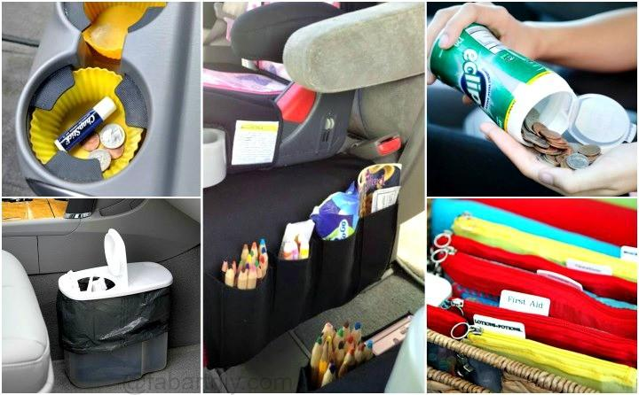 12 brilliant hacks to keep your car organized and clean - How to keep your car exterior clean ...