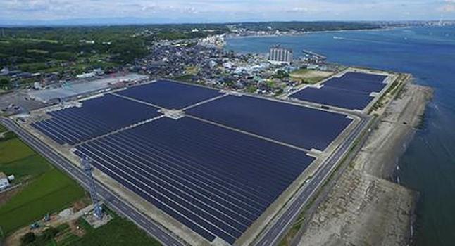 Japan S Giant Floating Solar Power Plant