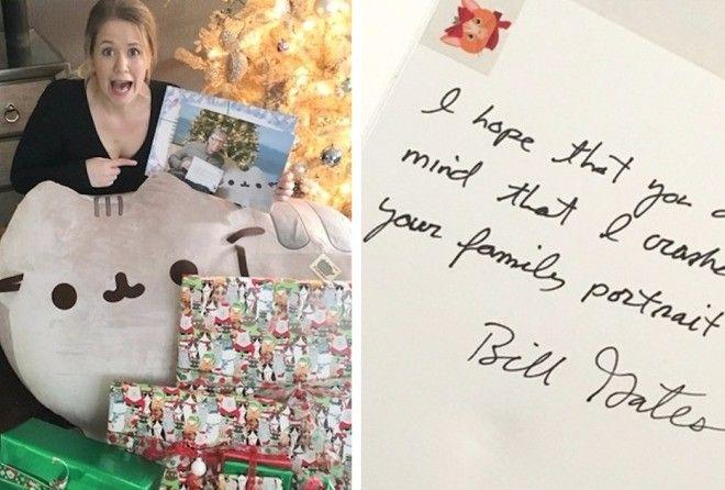 Female reddit user gets bill gates as her secret santa negle Gallery