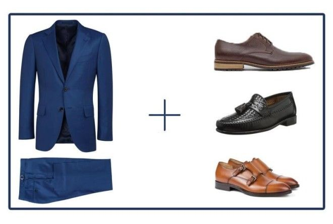 49301edba13 How to pick the right shoes for any color suit