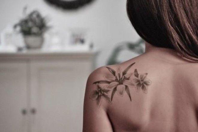 Flower tattoos for girls for Tattoos for girls flowers