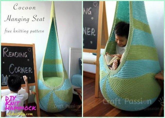 Easy DIY Fabric Hammocks To Enjoy In Summer