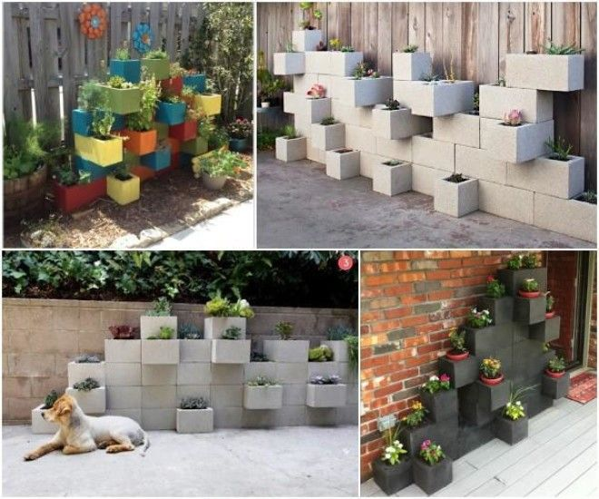 10 Amazing Cinder Block Diy Ideas And Projects