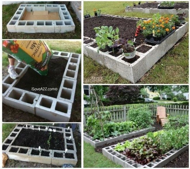 garden bed ideas 10 amazing cinder block diy ideas and projects 29697