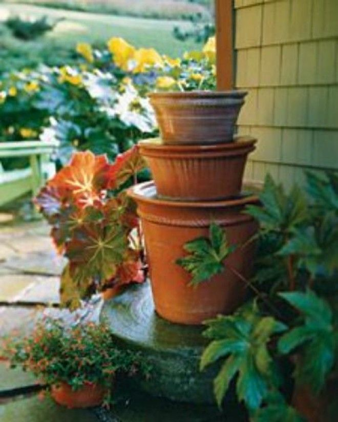 Ceramic Pot Fountains: DIY TerraCotta Clay Pot Fountain Projects Tutorials