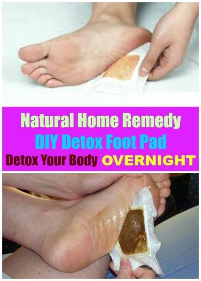 Diy Natural Detox Foot Pad
