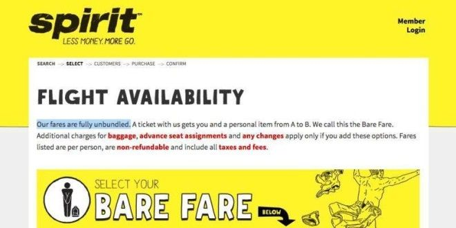What it 39 s like to fly on spirit airlines for Spirit airlines one way