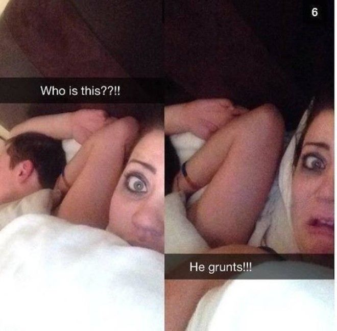 Awkward after Sex Selfies That Should Never Have Been Posted