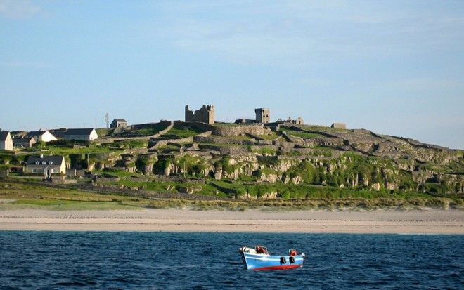 Explore Irelands ancient history in the Aran Islands in Galway Bay