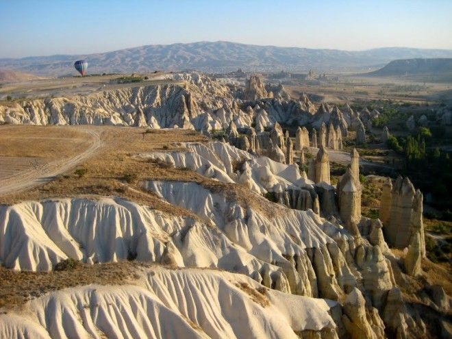 Explore the scifi landscapes of Cappadocia Turkey