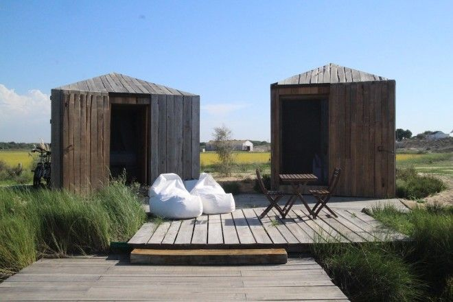Stay in a designer cabin in Comporta Portugal