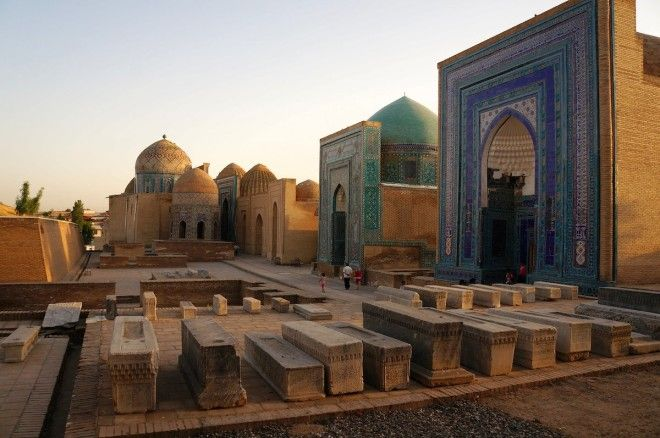 Travel back to Babylon in Samarkand Uzbekistan
