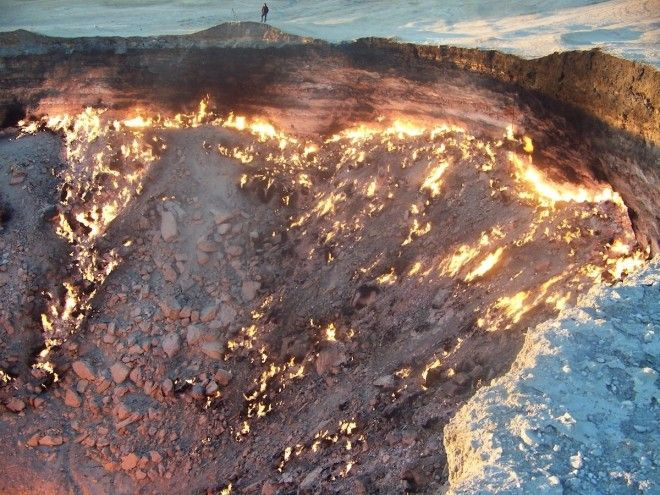 Watch the flames of The Gates of Hell Turkmenistan