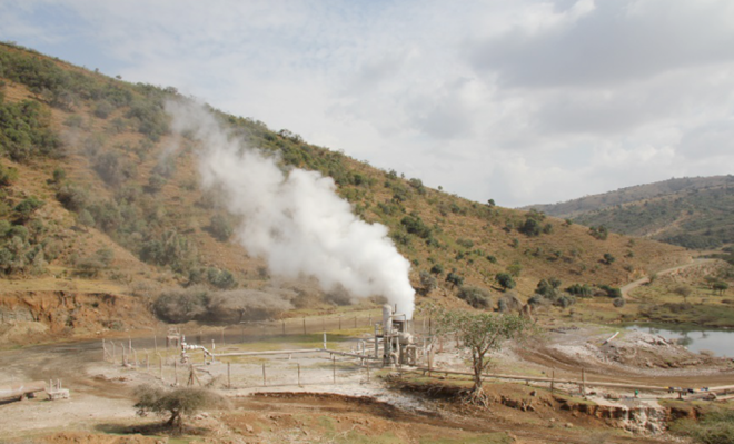 A productive geothermal well on Aluto. - Image Credit: William Hutchison