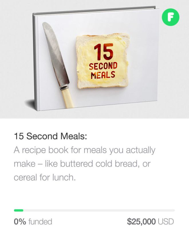 15 Second Meals