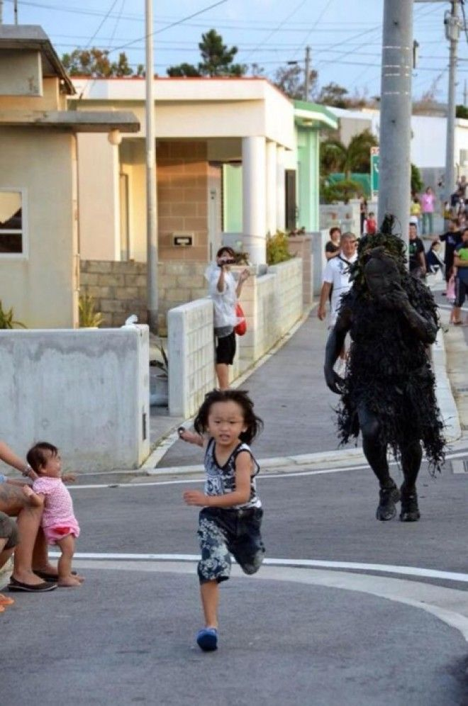 The terrifying japanese demon festival that probably sends kids into therapy