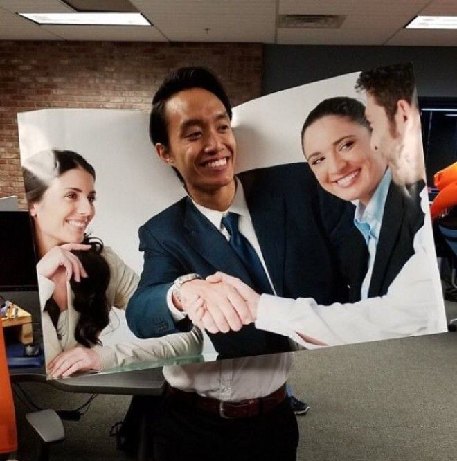 Guy Dressed Up As A Stock Photo For Halloween