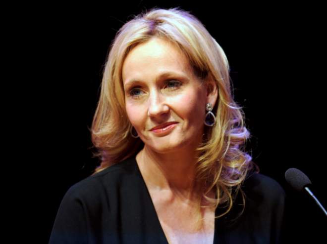 2. J.K. Rowling doesn't actually exist.