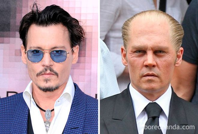 Johnny Depp - James 'Whitey' Bulger (Black Mass)