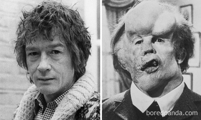 John Hurt - John Merrick (The Elephant Man)