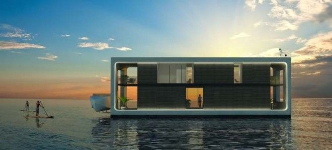 These floating villas let you live like royalty on the water