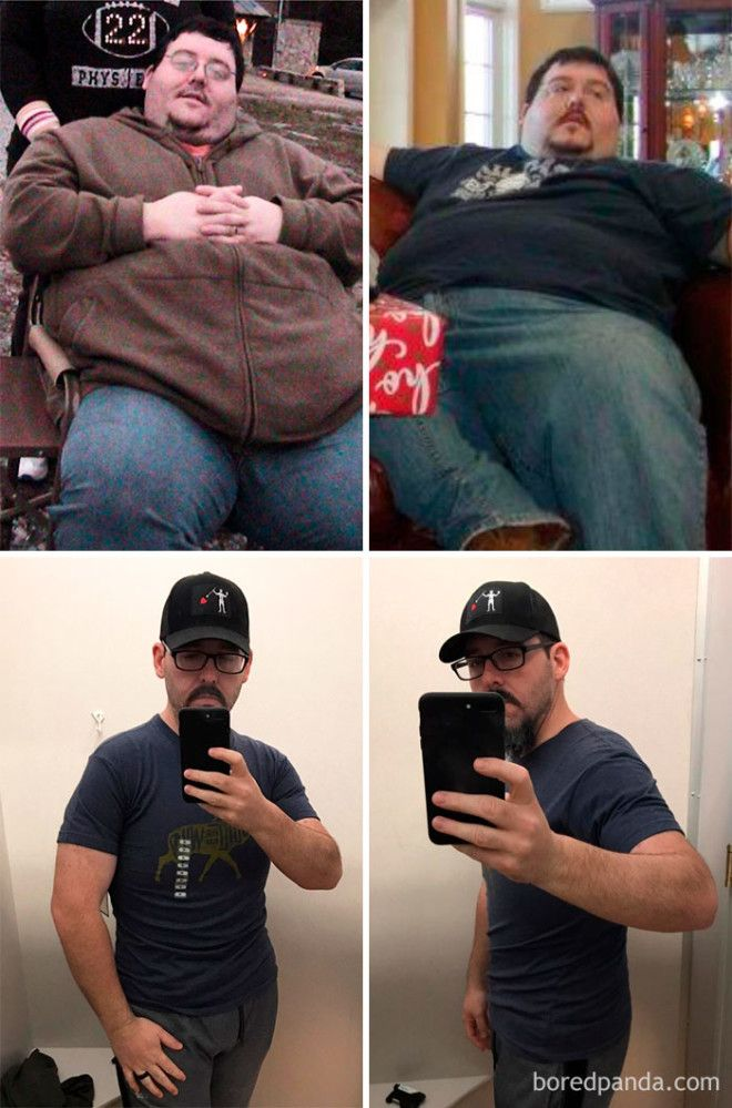 20 Before and After Photos Show Incredible Weight Loss Transformations