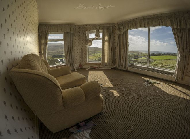 Nice Room...almost - An Abandoned Hotel Somewhere In Donegal.