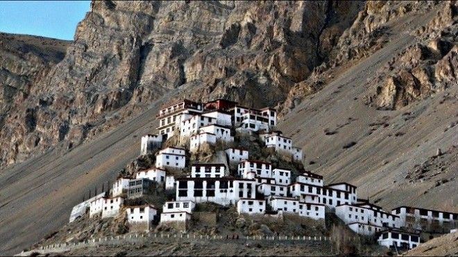 Buddhist Monastery of Kye Lahaul and Spiti India