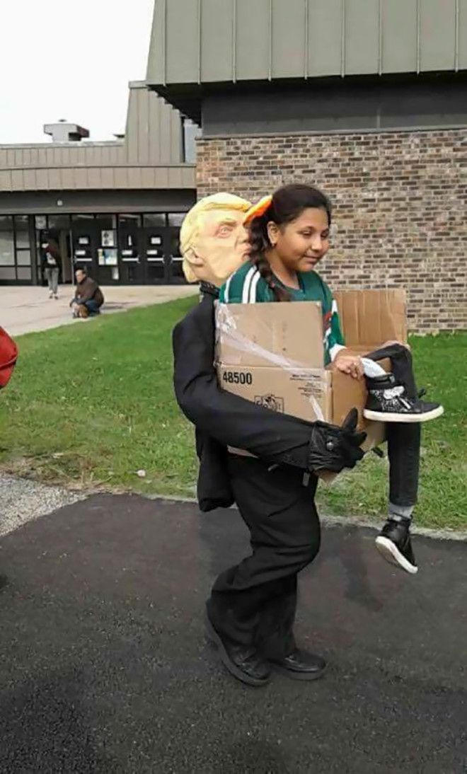 Getting Deported By Trump Halloween Costume