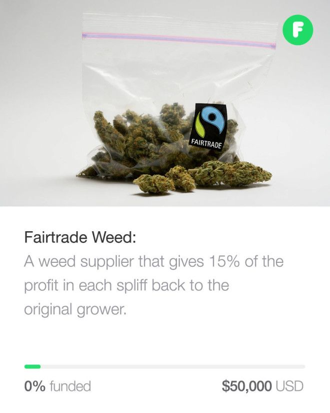 Fairtrade Weed
