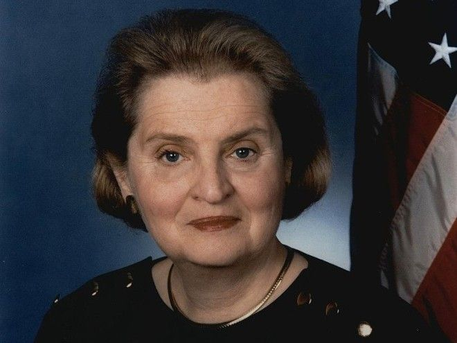 Former US Secretary of State Madeline Albright was raising a family while beginning her political career.