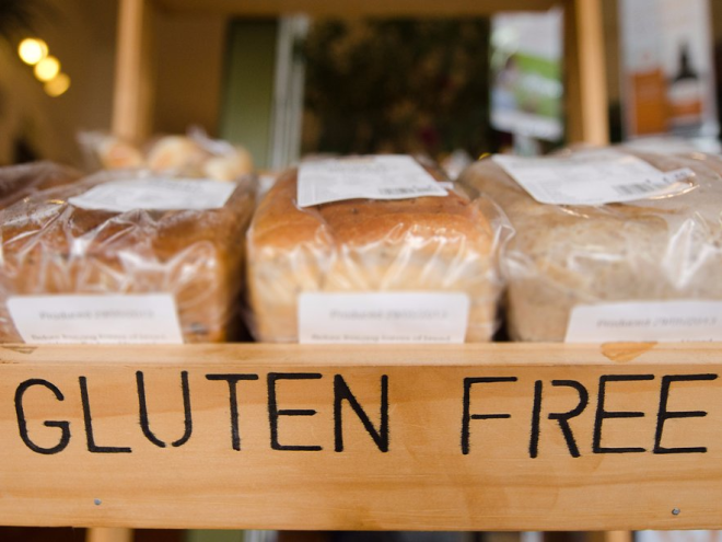 Gluten-free packaged foods