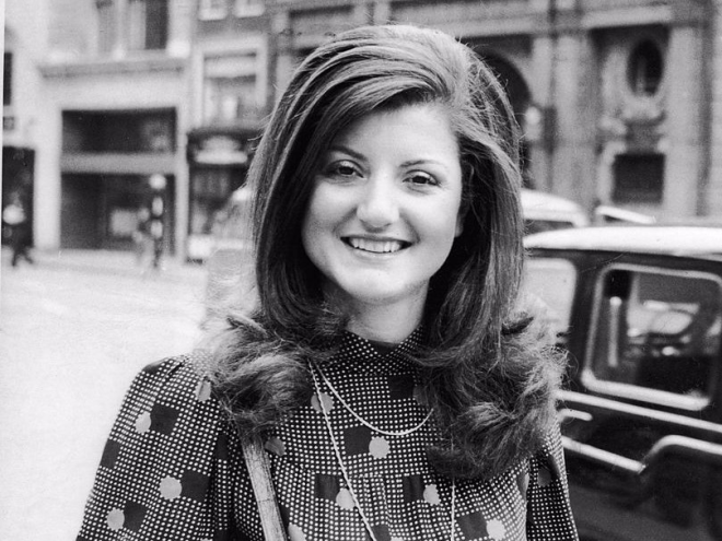 Huffington Post founder Arianna Huffington was traveling to music festivals around the world for the BBC with her boyfriend at the time.