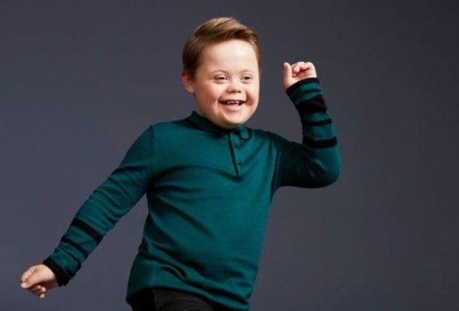 Young Boy With Downs Syndrome Becomes River Islands Newest Model joseph