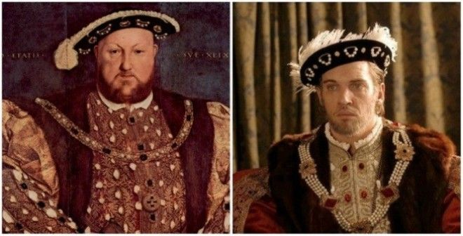 King Henry VIII in 'The Tudors
