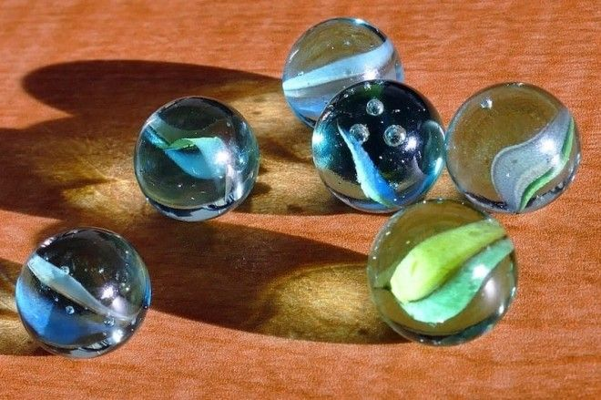 six marbles