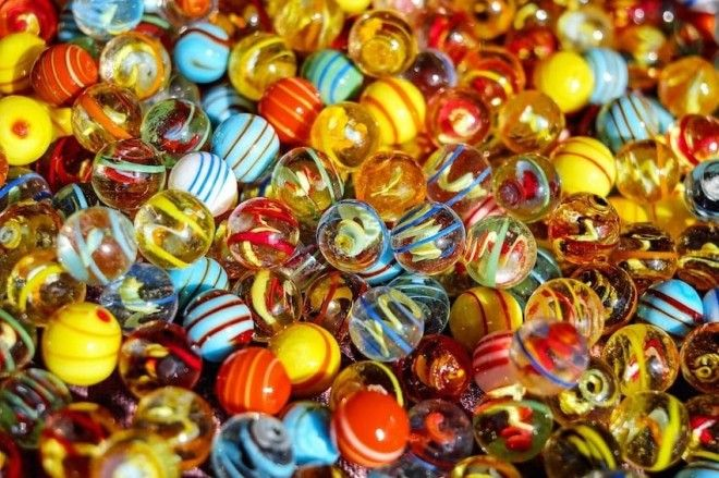 some marbles