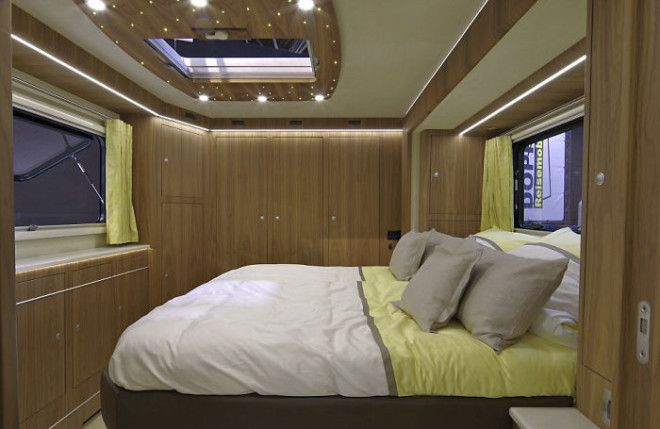 This 17 Million Motorhome With Its Own Garage Look Like An Ordinary Bus