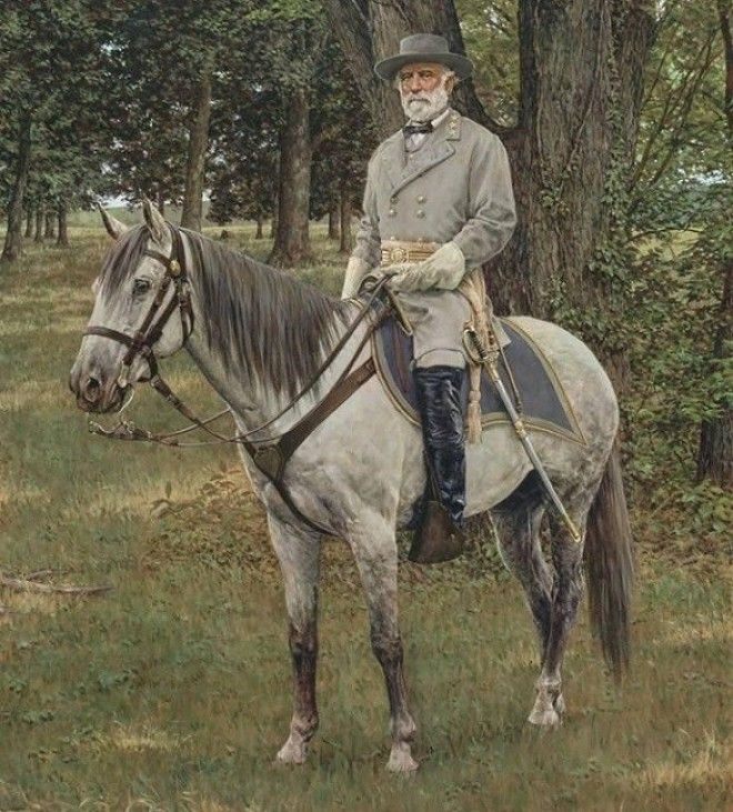 robert e lee on Traveler