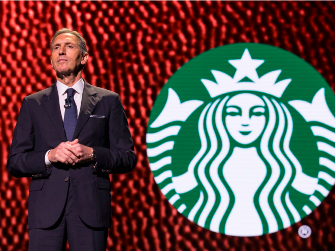 Starbucks Executive Chairman Howard Schultz was a Xerox salesman.