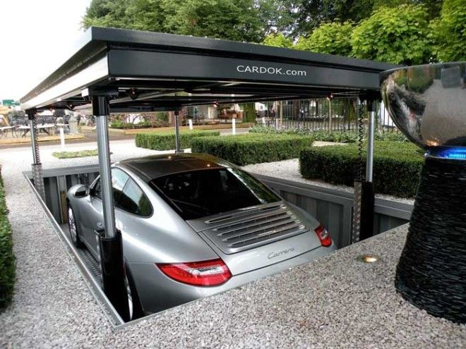 Underground Home Parking Solutions 1