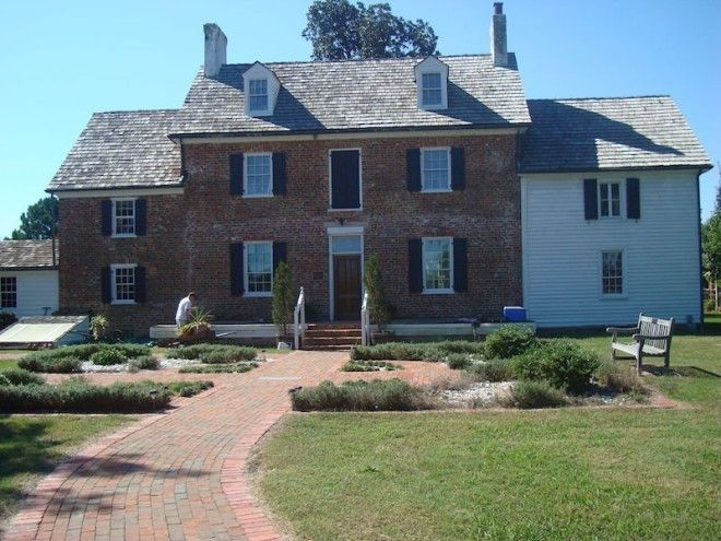 VIRGINIA: Ferry Plantation House