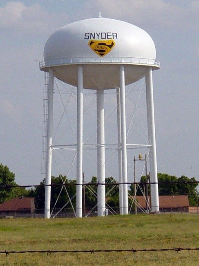 Water towers are for pressure