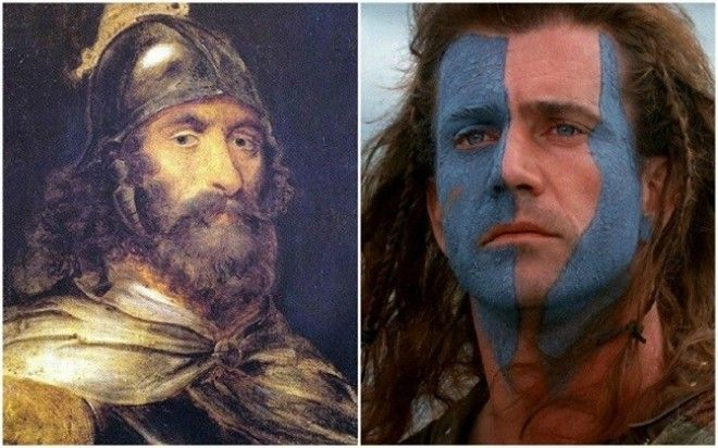William Wallace in Movie Braveheart