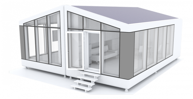 A robot can print this 64000 house in as few as 8 hours
