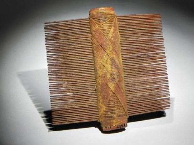 Ancient double sided comb