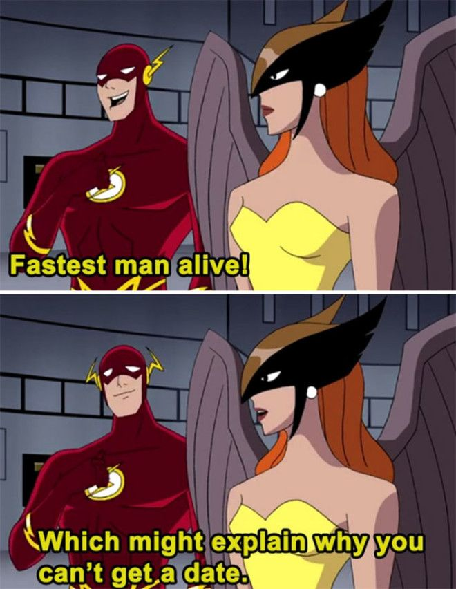 The Flash And His Love Life