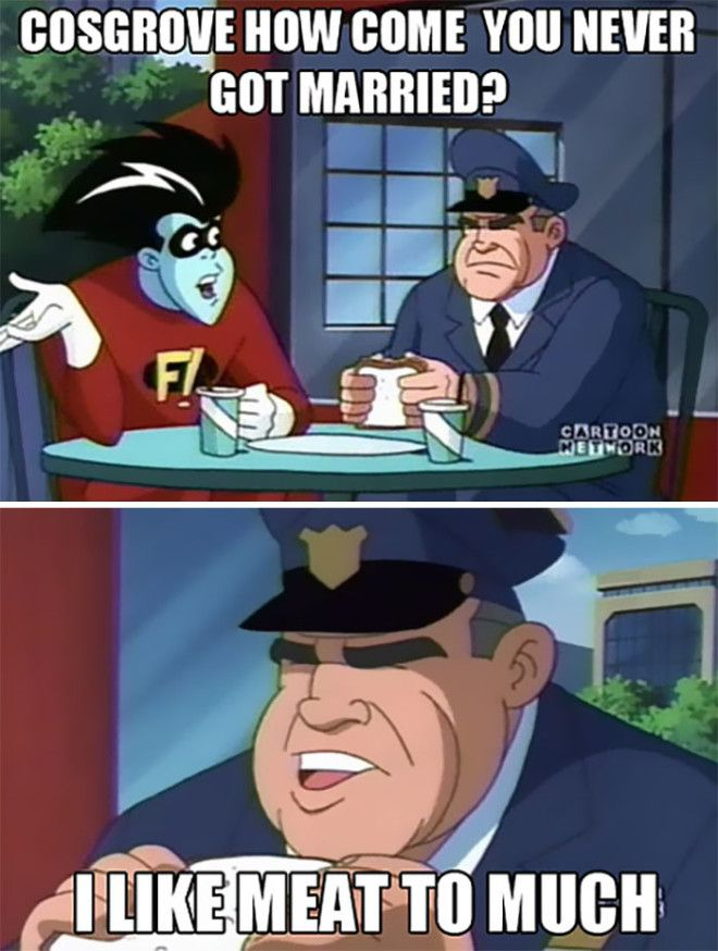 Watching Freakazoid When Suddenly