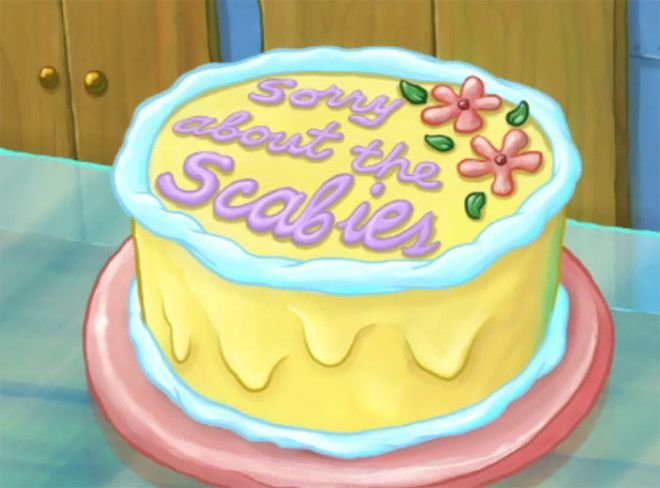 All Std Apologies Should Come With Cake From Spongebob Squarepants